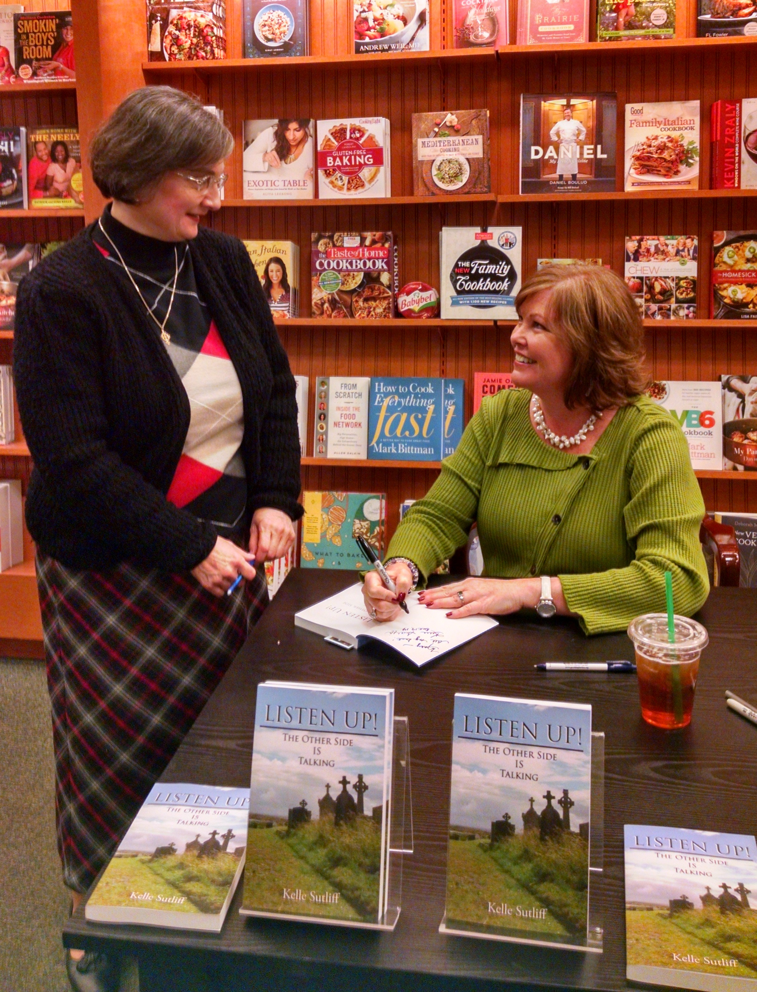 Kelle Sutliff  Book Signing at Barnes & Noble