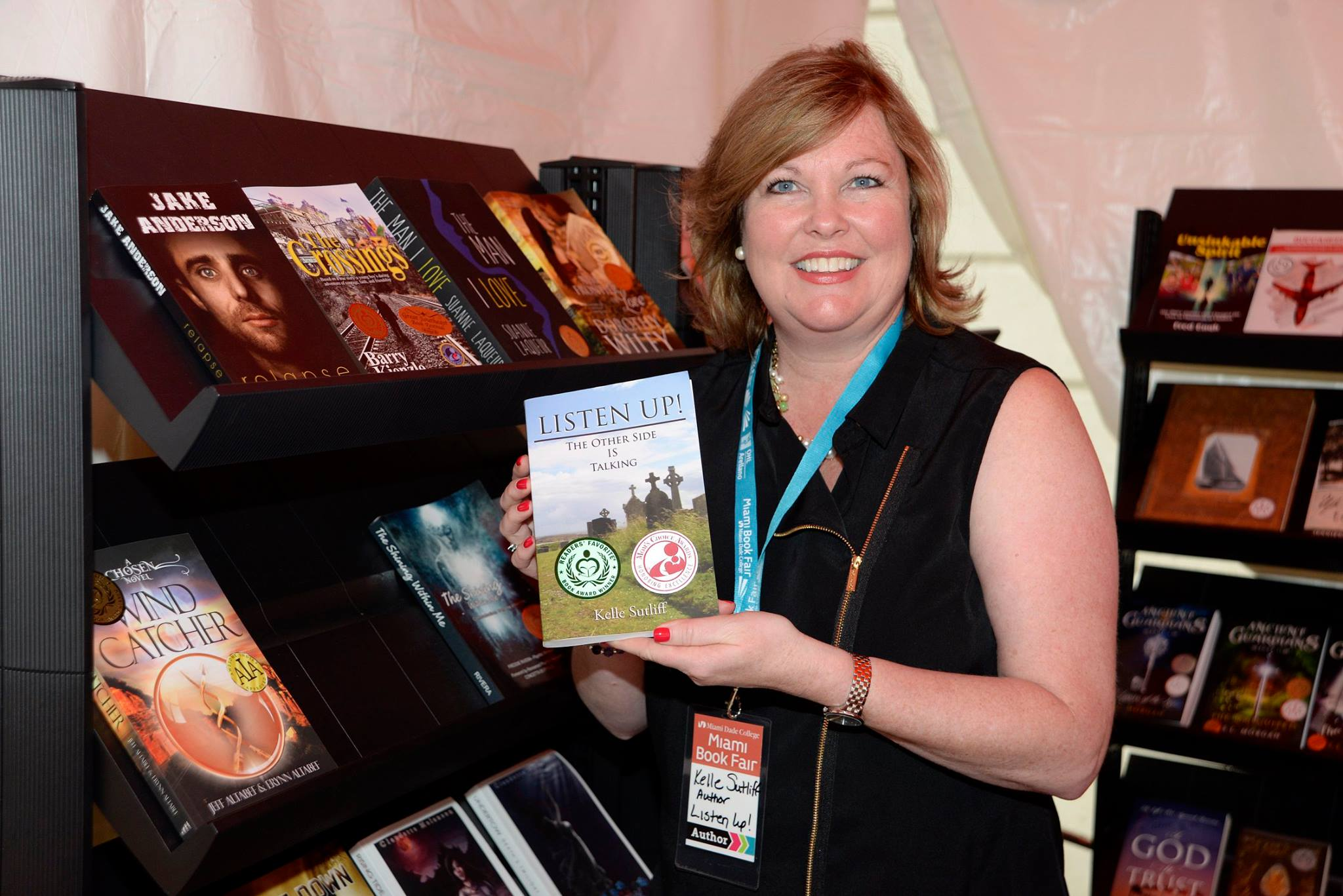 Kelle Sutliff at Miami Book Fair International