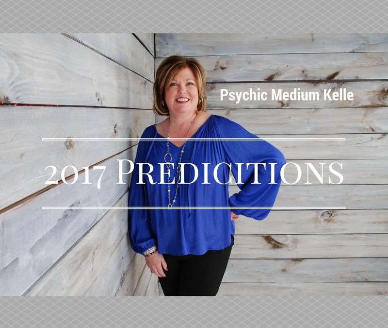 2017 Predictions by Psychic Medium Kelle Sutliff