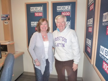 Kelle Sutliff with Dan Rea April 1, 2016