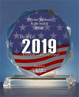 Psychic Medium Kelle Sutliff Receives 2019 Best of North Andover Award