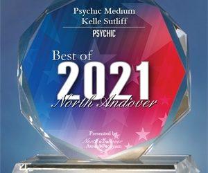 Psychic Medium Kelle Sutliff Receives 2021 Best of North Andover Award