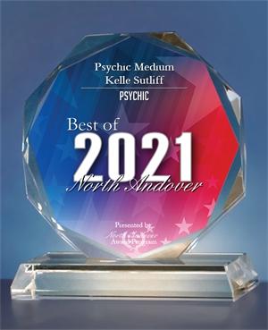 Kelle Sutliff Best Psychic Medium North Andover Award 2021
